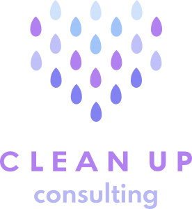 Clean Up Consulting logo violetti